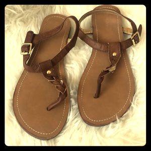 Merona Braided Strap Sandals - Size 9.5